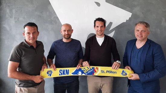 Helm übernimmt: SKN St. Pölten fixiert Trainerteam