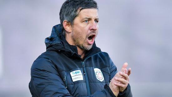 Scheiblehner neuer Trainer von Blau-Weiß Linz