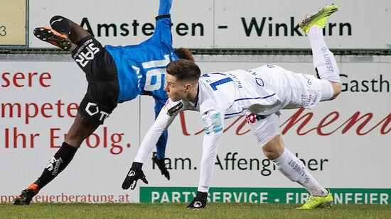 Auch Amstetten gegen Blau-Weiß Linz abgebrochen