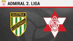 2. Liga LIVE: Austria Lustenau - GAK