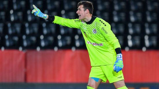 Klagenfurt-Keeper Moser fällt mit Verletzung aus