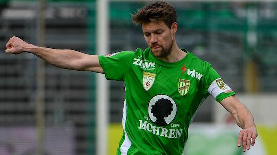 Vorwärts Steyr schnappt sich Lustenau-Kapitän