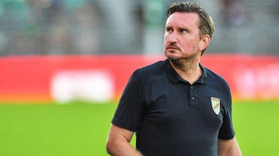 Lustenau entlässt Trainer Alexander Kiene