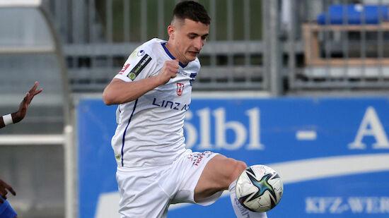 Blau-Weiß Linz bindet Mitrovic langfristig