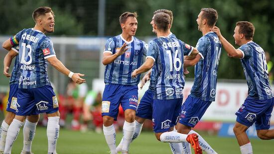 Cup: BW Linz nach Sieg in Kuchl eine Runde weiter