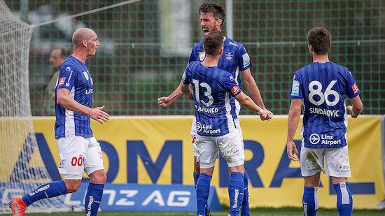 Blau-Weiß Linz plant Bundesliga-Aufstieg 2022/23