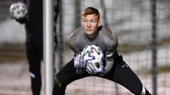 RB Salzburg befördert jungen Goalie
