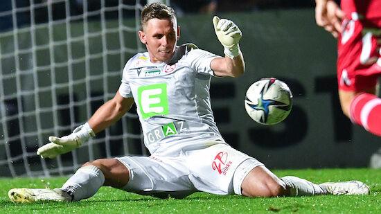 Lange Pause für GAK-Goalie Christoph Nicht