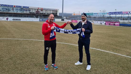 Horn verlängert mit Trainer Schriebl langfristig