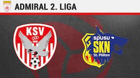 2. Liga LIVE: Kapfenberger SV vs. St. Pölten