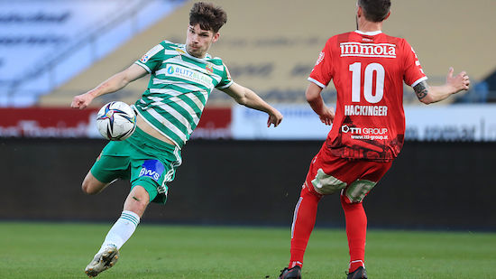 SK Rapid verlängert Vertrag mit Eigengewächs