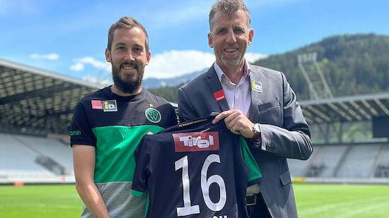 Wacker Innsbruck verlängert mit Alexander Joppich