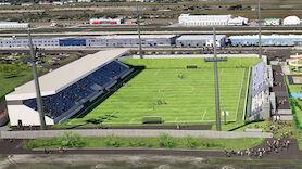 So soll das Stadion in Wr. Neustadt aussehen