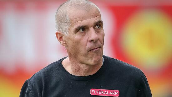 Klaus Schmidt bleibt nicht Admira-Trainer