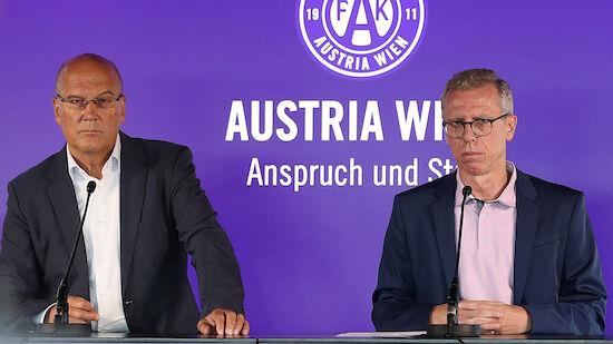 Abschied! Austria von Stöger-Verkündung überrascht