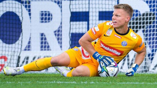 Austria-Goalie Pentz gibt ÖFB-Traum nicht auf