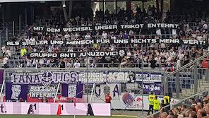 Austria-Fans vs. Junuzovic