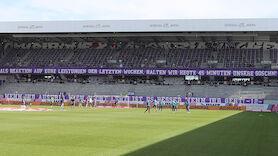 Fan-Boykott bei Austria-Heimspiel