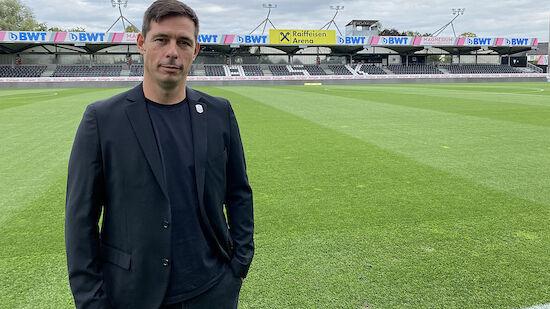 LASK präsentiert neuen Sportdirektor