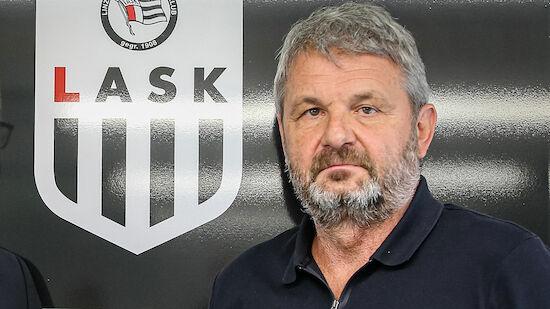 LASK: Jürgen Werner im Mittelpunkt eines Skandals