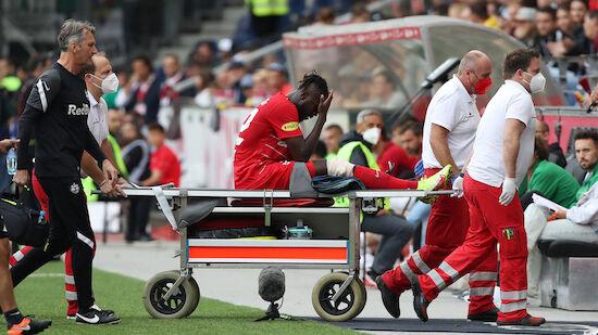 Oumar Solet wohl schwer am Knie verletzt