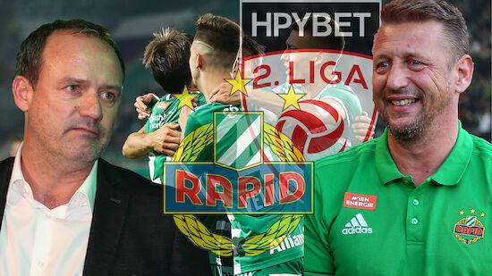 Ziel dank Konzept: So will Rapid II in 2. Liga!