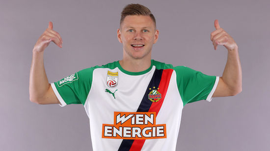 Maximilian Ullmann ist Rapidler der Saison 2020/21
