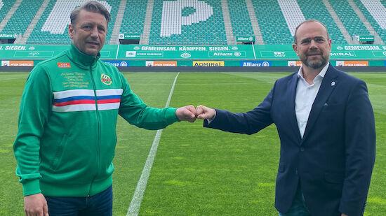 Rapid verlängert mit Geschäftsführer Sport Barisic
