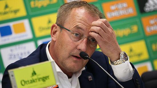 Hannover angelt nach Ex-Rapid-Sportchef