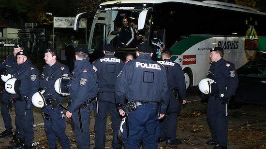 Schneeball-Gate: Geldstrafe für Rapid-Fan