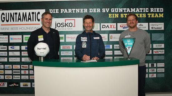 Andreas Heraf bleibt Cheftrainer in Ried