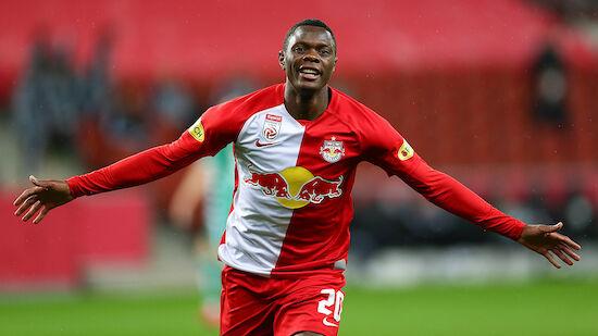 Patson Daka ist Bundesliga-Spieler der Saison