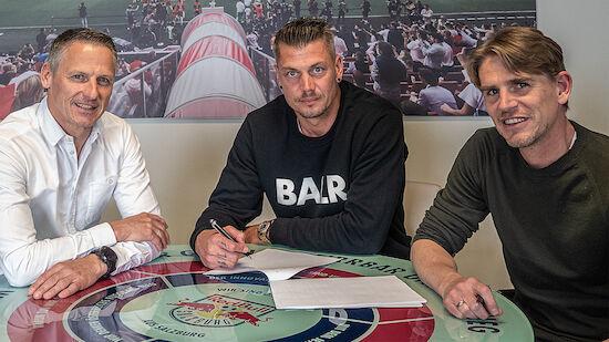 Alexander Walke bleibt bei RB Salzburg