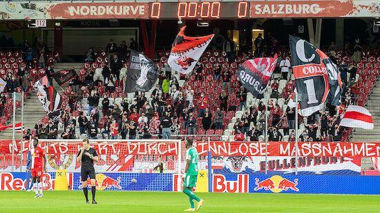 RB Salzburg freut sich auf Fan-Rückkehr