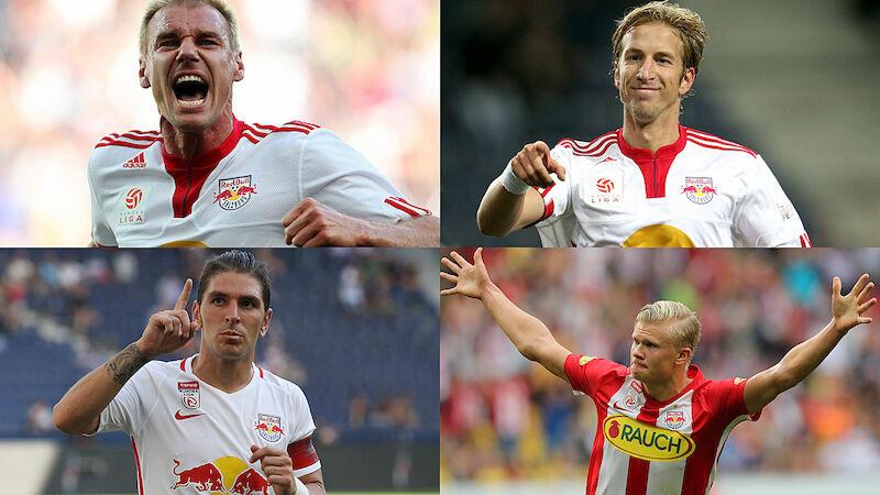 Red Bull Salzburg: Wer waren die Besten?