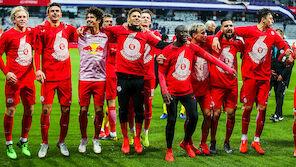 Salzburg fixiert sechsten Meistertitel in Folge