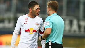 Salzburg sauer auf den Referee