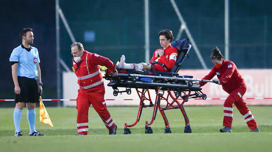 Horrorverletzung bei Salzburg-Verteidiger Vallci