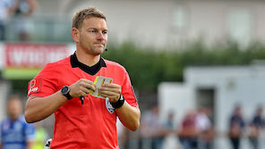 Europacup-Debüt für ÖFB-Schiri Schüttengruber