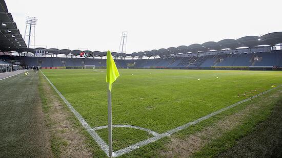 Spielfeld der Merkur Arena wieder zugelassen
