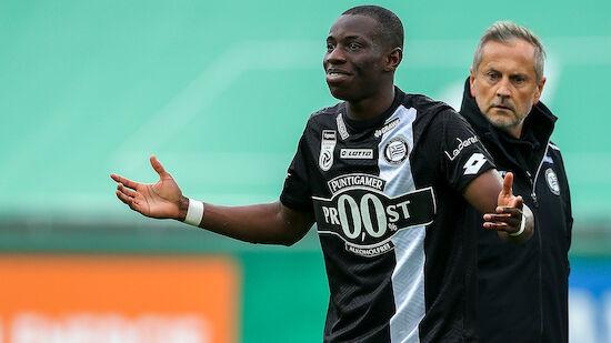 Strafausmaß gegen Kelvin Yeboah bekannt