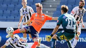 Sturm beendet Saison mit Derby-Niederlage