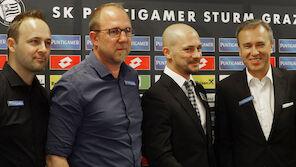 Sturm Graz geschlossen in Kurzarbeit