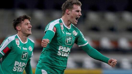 Rapid verhandelt wegen Frederiksen mit Juve