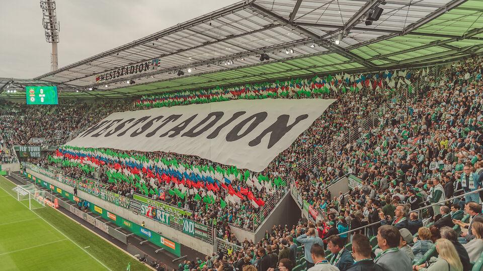 Stadion-Eröffnung Rapid Fans