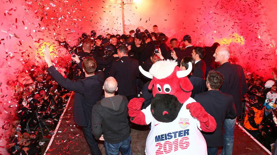 Bilder der Salzburger Meister-Party
