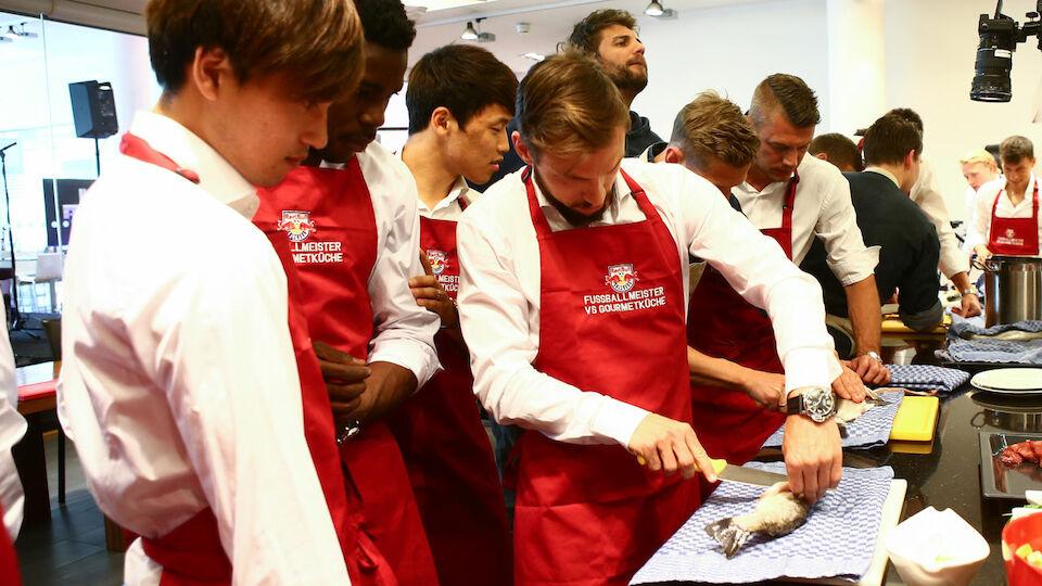 RB Salzburg Koch-Workshop Diashow