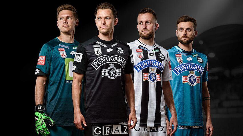 Sk Sturm Graz Prasentiert Neues Trikot Fur Saison 2019 20 Laola1 At