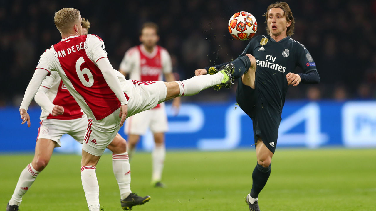 Llaves De Champions 2019 Photo: CL: Gücklicher Real-Madrid-Sieg Gegen Ajax Amsterdam