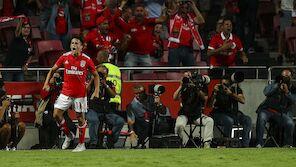 Benfica und PSV stürmen in die CL-Gruppenphase